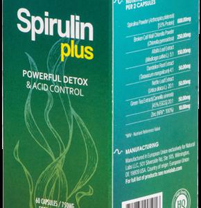 Spirulin Plus- Efektywny detoks bez uciążliwych diet? Skuteczne odkwaszanie organizmu bez katorżniczych wyrzeczeń? Tak, to realne!