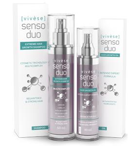 Vivese Senso Duo Shampoo – Osłabione włosy? Pragniesz specyfiku, który zlikwiduje tenże kłopot oraz poprawi stan Twoich włosów raz na zawsze? To znalazłaś!