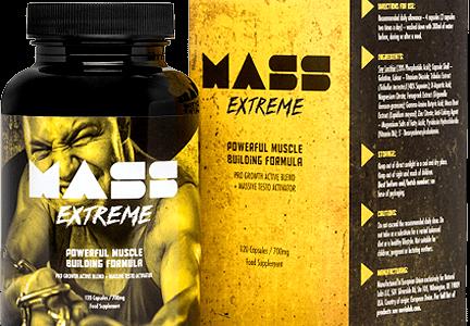Mass Extreme – Solidniejsza rzeźba i napompowana sylwetka, to coś co osiągniesz bez problemu z Mass Extreme!