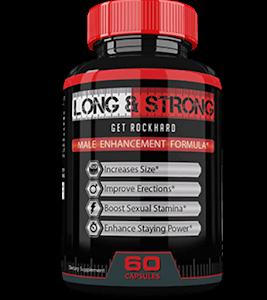 Long&Strong – Dłuższa, mocniejsza oraz twardsza erekcja? Wypróbuj ten świetny suplement!