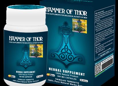 Hammer of Thor – doskonały produkt, który poradzi sobie z każdym zaburzeniem wzwodu.